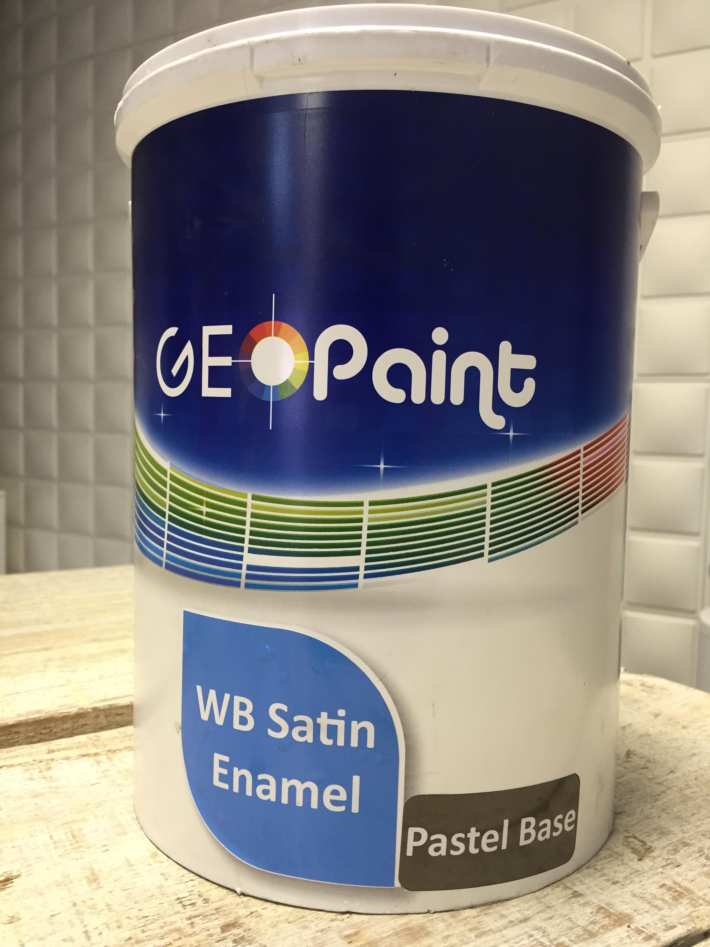 Water Based Satin Enamels Geo Paint